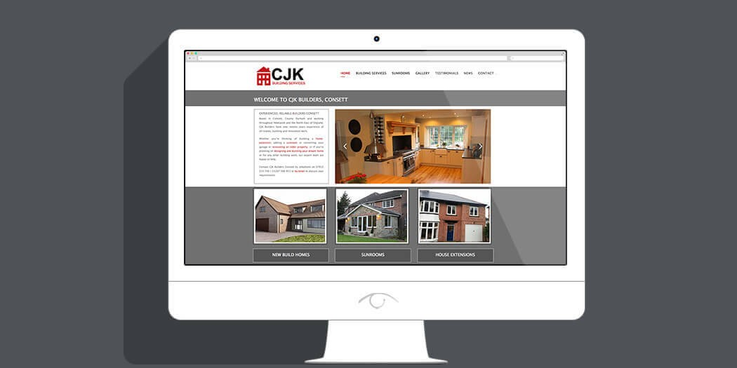 Web Design Consett - CJK Builders